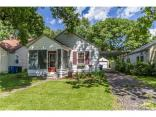 4941  Ralston  Avenue, Indianapolis, IN 46205