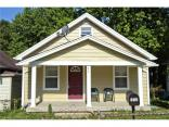 612 North Luett  Avenue, Indianapolis, IN 46222