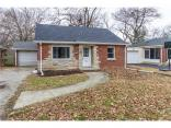 5836  Brouse  Avenue, Indianapolis, IN 46220