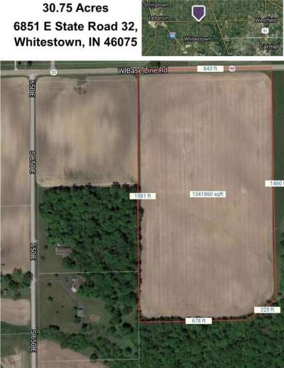6851 E State Road 32, Whitestown, IN 46075
