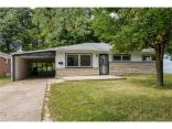 4528 North Hartman Drive, Indianapolis, IN 46226