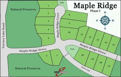 Lot 1 W Maple Ridge, Columbus, IN 47201