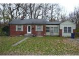 6731  Brouse  Avenue, Indianapolis, IN 46220